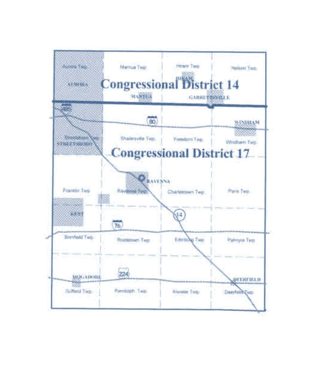 2002-2012 OhiO District Maps Portage County Congressional Districts 20 Office of the Ohio Secretary of State