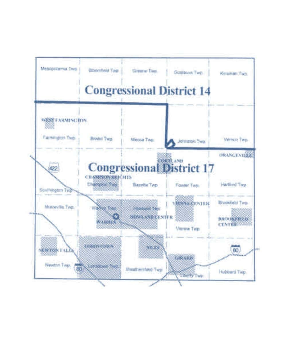 2002-2012 OhiO District Maps Trumbull County Congressional Districts 24 Office of the Ohio Secretary of State