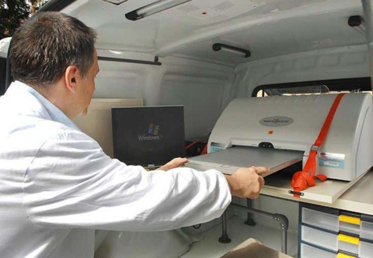 Tecnologie Allestimento Sistema Computed Radiography POC 260 Carestream