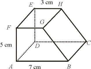Trapezium ABGF is the uniform cross-section of the prism. (a) On Diagram 2, mark the angle