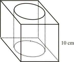 cylinder is 7 cm and the height of the cylinder is 10 cm. Using  =