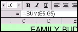 Check that this has happened in the other copied formulas. Now select the cell B11 and