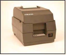 automatically cut the paper below the printed information. Epson U200B Rollcut Printer Usage Autocut printers are