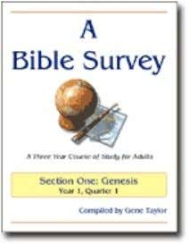 A Bible Survey is a complete three year Bible curriculum for adults consisting of twelve study