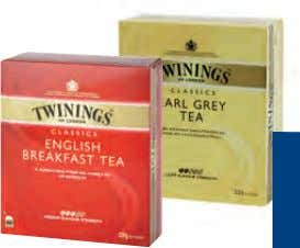 11,15 Twinings Earl Grey od. English Breakfast 100-Btl.-Pkg. 6. 09 7,31 Bensdorp Benco Power Plus