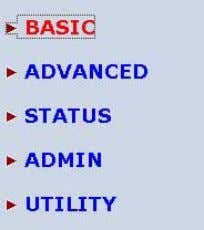 advanced function will affect the performance or system error, even disconnection. Click Basic for basic installation.