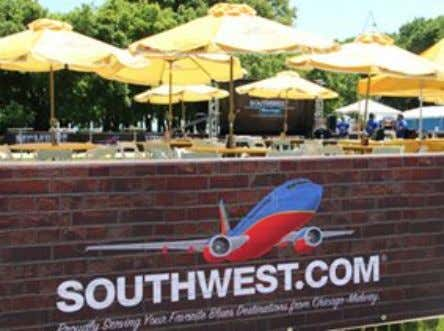Southwest sponsors events in 15 to 18 cities each year, with Atlanta, Chicago and Denver