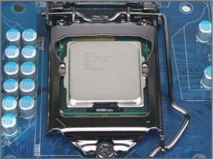 alignment keys) and gently insert the CPU into position. Step 5: Push the CPU socket lever