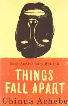 Of Oyo state (TSOS) 35. Things Fall Apart (TV Series) 1987 Adapted from Chinua Achebe's novel