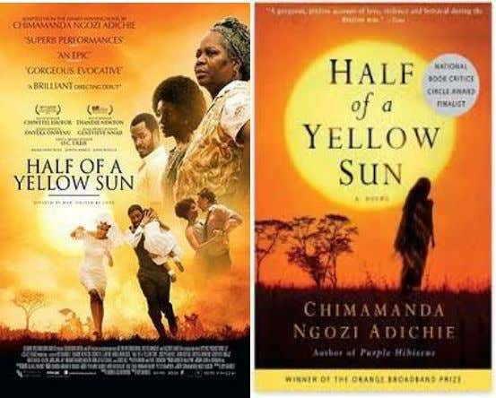 92. Half of A Yellow Sun Based on the award winning novel by Chimamanda Ngozi Adichie,