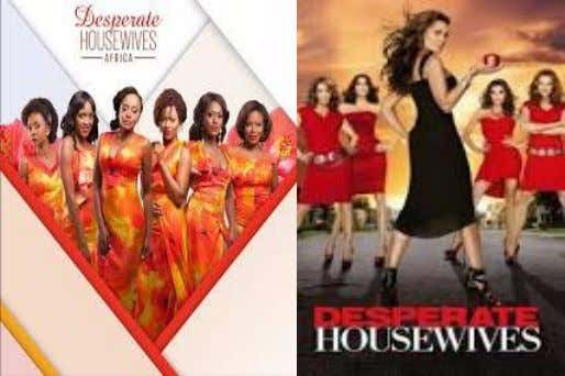 An adaptation by Ebony life TV of the American TV comedy-drama, Desperate Housewives, which was