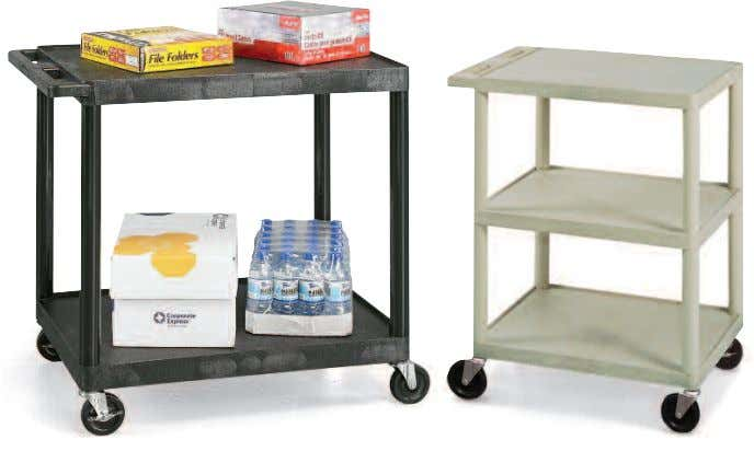 SALE ON THIS PAGE Trucks & Carts | UTILITY CARTS LIFETIME WARRANTY Flush-Shelf Carts