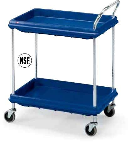 SALE ON THIS Trucks & Carts | UTILITY CARTS PAGE Deep-Ledge Utility Carts • Chrome posts