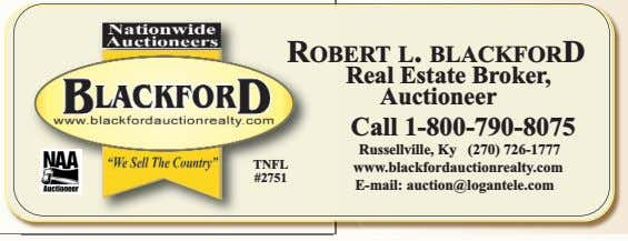 ROBERT L. BLACKFORD TNFL #2751