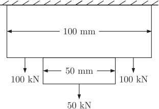 self weight, the maximum tensile stress in N/mm 2 anywhere is (A) 16.0 (B) 20.0 (C)