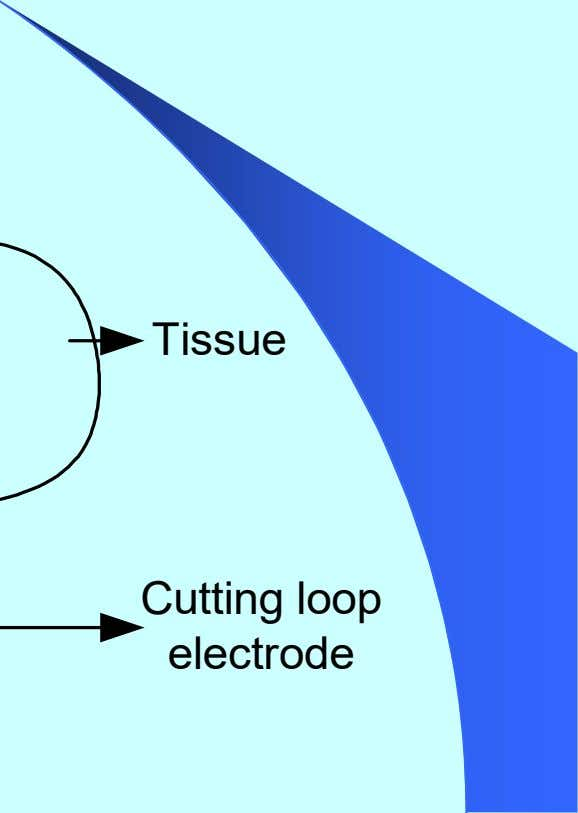 Tissue Cutting loop electrode