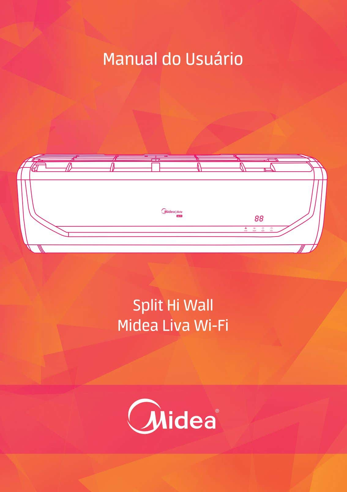 Manual do Usuário Split Hi Wall Midea Liva Wi-Fi