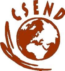 made available by CSEND.org with the agrement of the author. The Centre for Socio-Eco-Nomic Development (CSEND)