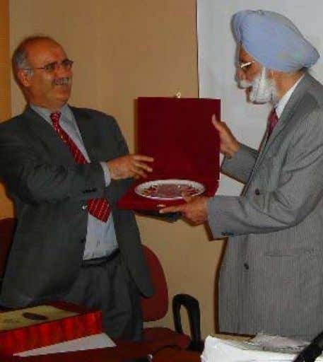 page 12 UNDERSTANDING SIKHISM – The Research Journal Fig. 4. (Right) Prof Ilyas Celebi, Vice Dean,
