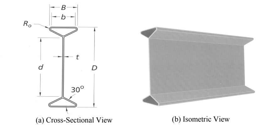 (a) Cross-Sectional View (b) Isometric View