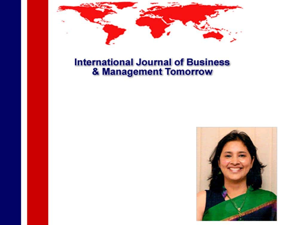 Journal of Business and Management Tomorrow Vol. 2 No. 2 Personality Of Teachers Dr Sandhya Mehta,