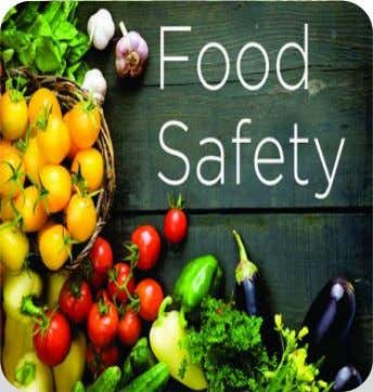 What is…. - The assurance that food will not cause harm to the consumer when it