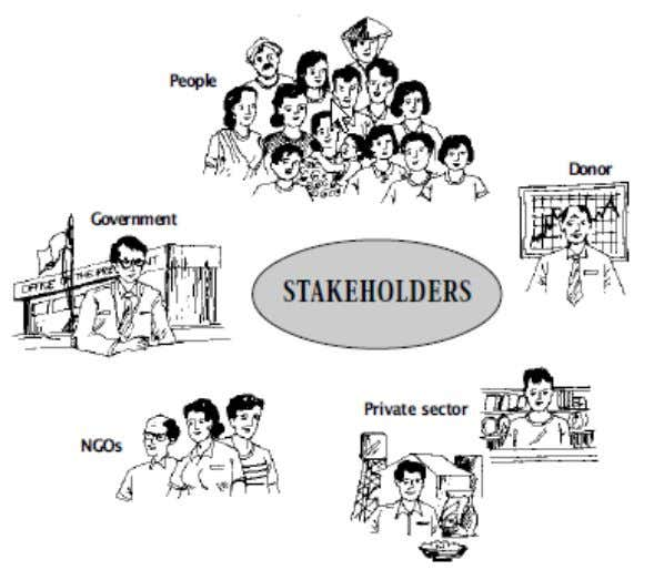 account, even if some are to be set aside at a later date. Stakeholder Analysis allows