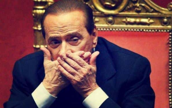 "July 4th, 2013 Published by: diggita Politica - L'abbraccio dei ""fedeli"" a Berlusconi . (bassapolitica)"