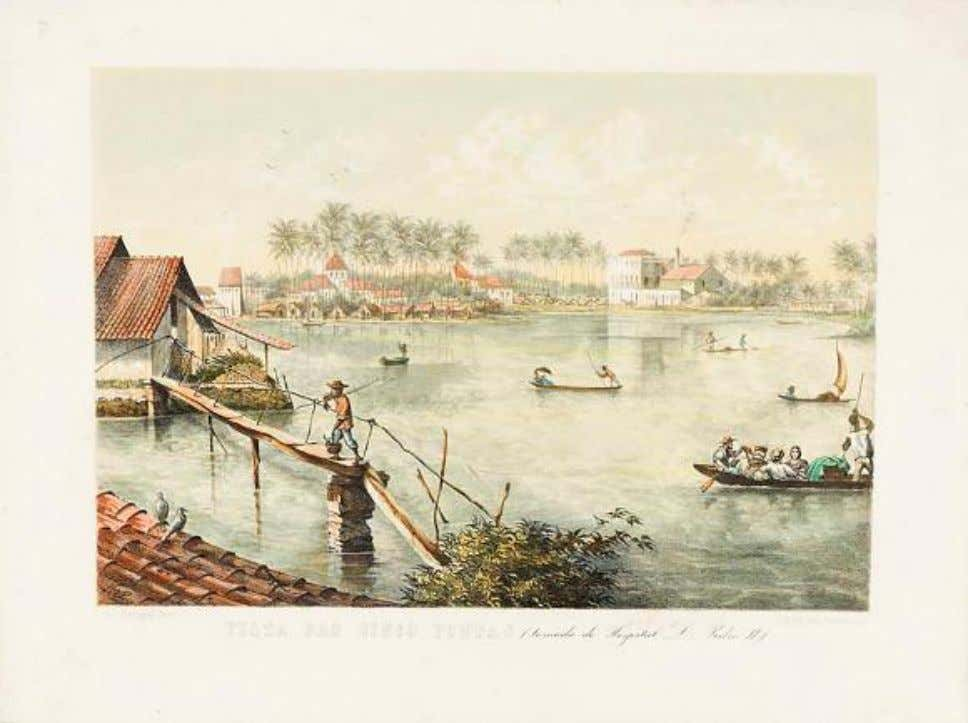 Vista das Cinco Pontas (tomada do Hospital D. Pedro II), c.1863