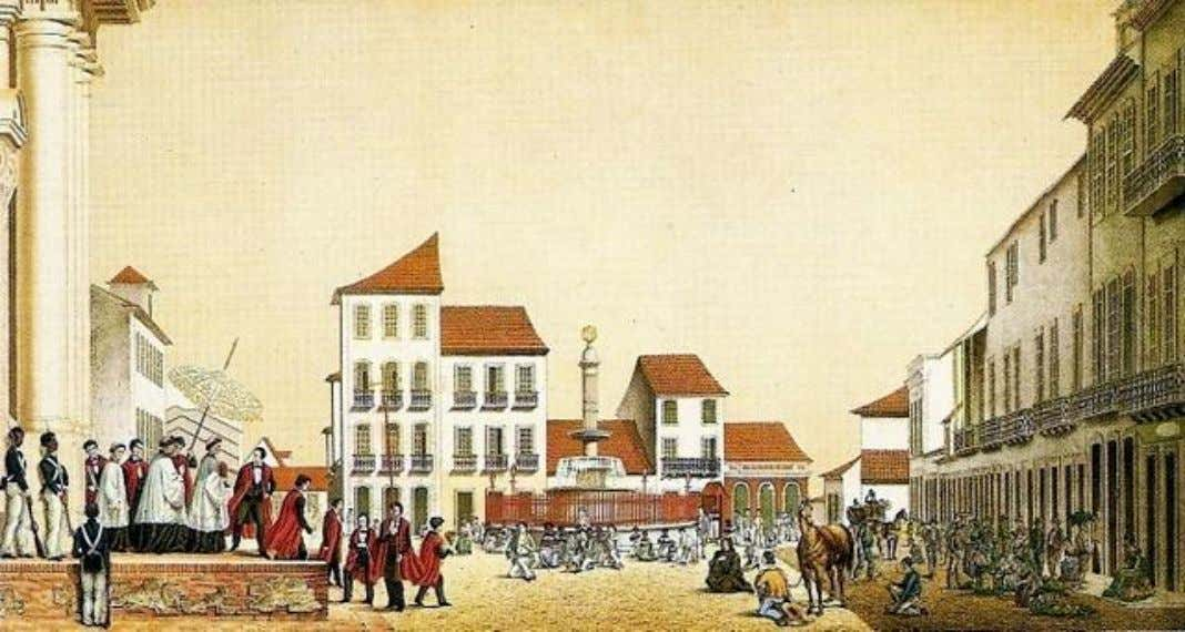 Largo da Matriz da Boa Vista by Emil Bauch