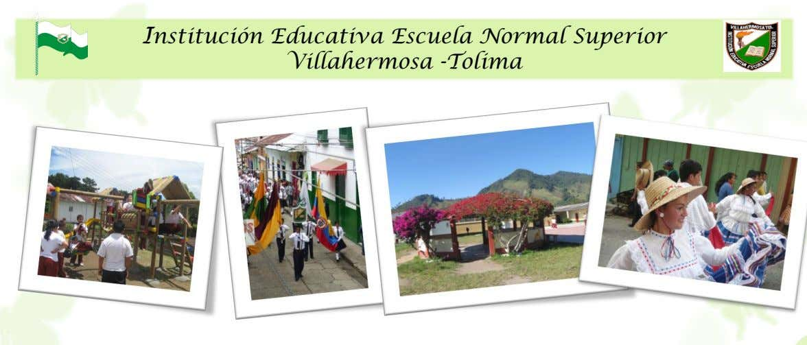 Institución Educativa Escuela Normal Superior Villahermosa -Tolima