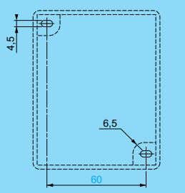 zener barrier box SM1 PY52 6, 5 6, 5 60 60 4,5 4,5 99,7 99,7 84