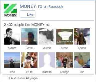 MONEY.ro on Facebook Like 2,402 people like MONEY.ro . Avram Costel Valeria Stone Csaba Lena