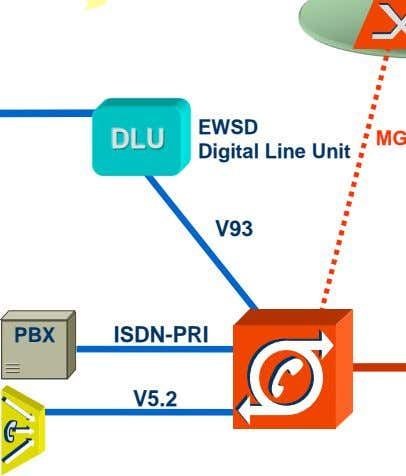 DLU EWSD Digital Line Unit V93 PBX ISDN-PRI V5.2