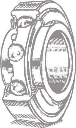 Improper Fit in Housings or Shafts A manufacturer's recommended bearing fit should be followed to