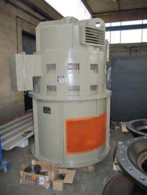 - 735 rpm - 6000 V - 50 Hz Mourikion plant - EYDAP Greece Pellizzari GAVS