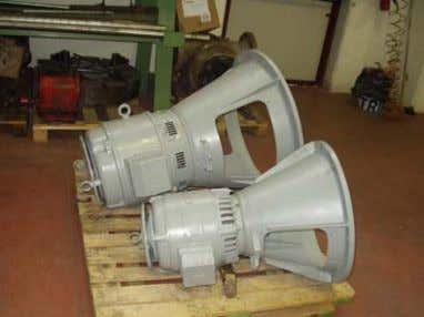 WITH RESTORING OF TH E PROPER EFFICIENCY MISA SERVIC E Overhaul of some electrical motors: with
