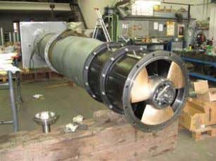 pumps - vertical propeller pump for a cooling system COMPLETE RESTORE FOR SMALL AND LARGE LIFTING