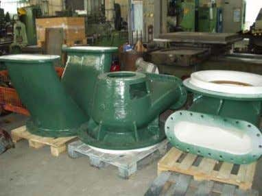 pump was tested with the witness of the customer officials. Pump type: AV 500/800, year 1958