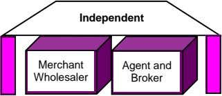 Independent Merchant Agent and Wholesaler Broker