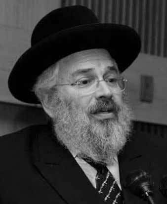 to get it into our heads that even when not within the walls Rabbi Dovid Meir