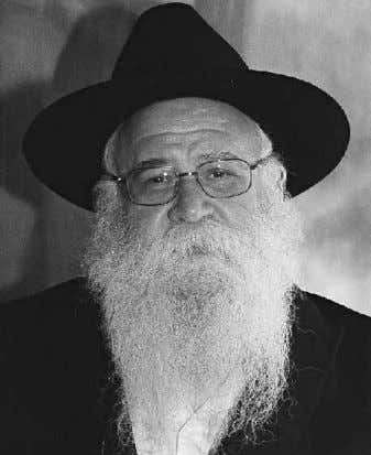 know the halachos; you also need to be aware of styles and Rabbi Chaim Ashkenazi what