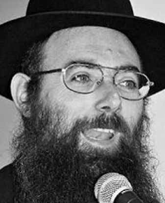 always accept what we say. Rabbi Ashkenazi: Obviously, we Rabbi Chaim Shlomo Diskin need to carry