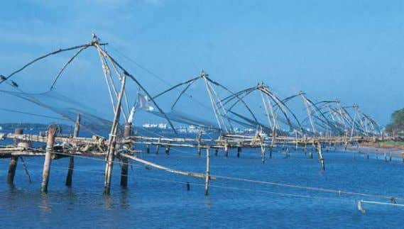 and a majority of people here eat rice, fish and vegetables. Chinese Fishing Nets an attractive