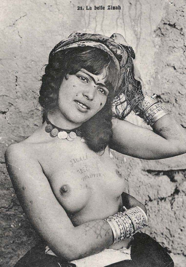or that tattooing is contrary to their religious belief. Figure 14: La Belle Zinah, 1900 –