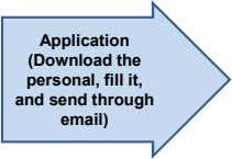 Application (Download the personal, fill it, and send through email)