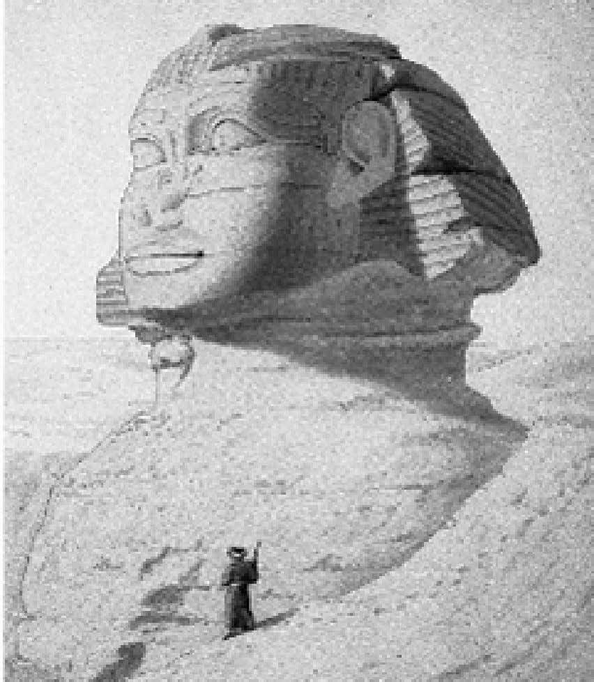 284/839 The Sphinx is the oldest known monument and it relates to the solar mysticism of