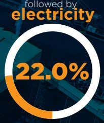 followed by electricity 22.0%
