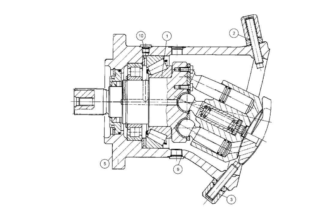 Bucyrus International, Inc. 39HR 141249 PUMP ASSEMBLY, ROTARY MOTOR 62044922 Printed: 09/15/2011 Page 39