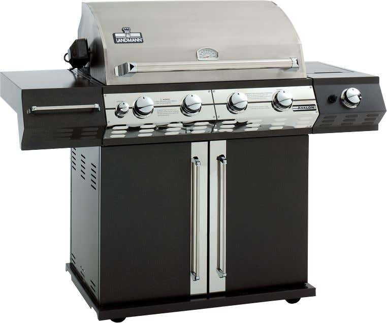 "ta t ""Gas barbecue"" Assembly and operating manual Please read these before every use. Failure to"